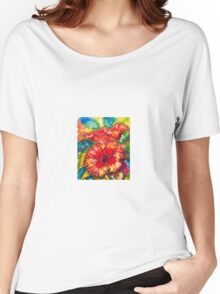 Hibiscus Women's Relaxed Fit T-Shirt