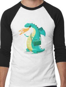 Sunshine Dragon Men's Baseball ¾ T-Shirt