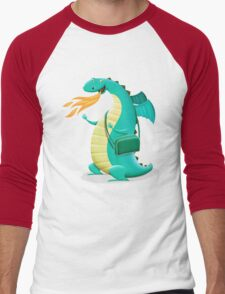 Sunshine Dragon Men's Baseball ¾ T-Shirt