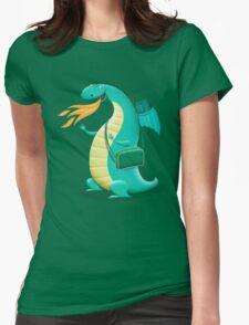 Sunshine Dragon Womens Fitted T-Shirt
