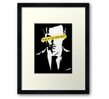 Dead is the new Sexy Jim Moriarty Framed Print
