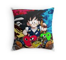 Gohan x Bape (Limited Edition - ONE DAY LEFT) Throw Pillow