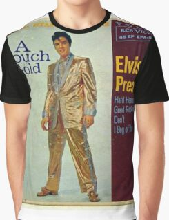 Elvis Presley A Touch Of Gold  EP cover, Gold Suit Graphic T-Shirt