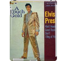 Elvis Presley A Touch Of Gold  EP cover, Gold Suit iPad Case/Skin