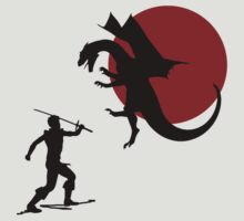 Dragon Slayer by tshirtdesign