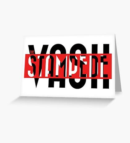Trigun - Vash the Stampede Greeting Card