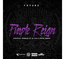 Future - Purple Reign [4K] Photographic Print