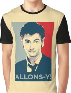 Tenth Doctor - Allons-y Graphic T-Shirt