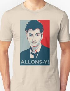 Tenth Doctor - Allons-y Unisex T-Shirt