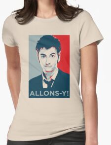 Tenth Doctor - Allons-y Womens Fitted T-Shirt