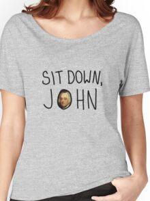 sit down, john! Women's Relaxed Fit T-Shirt