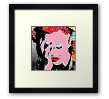 Madonna Pop Art Framed Print