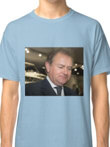 Hugh Bonneville British actor from Downton Abbey  Classic T-Shirt