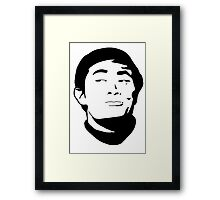 Sulu - Star Trek TOS Framed Print