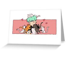Cat Sir Greeting Card