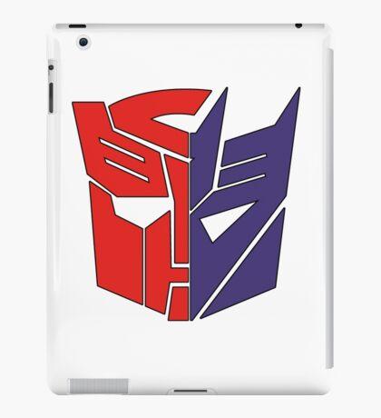 Transformers Autobot/Decepticon iPad Case/Skin