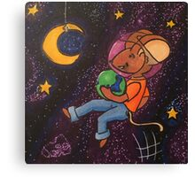 Space Mouse Canvas Print