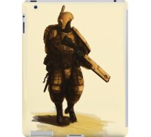 Tau - Fire Warrior iPad Case/Skin