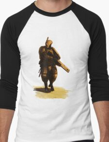 Tau - Fire Warrior Men's Baseball ¾ T-Shirt