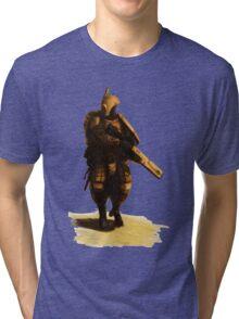 Tau - Fire Warrior Tri-blend T-Shirt