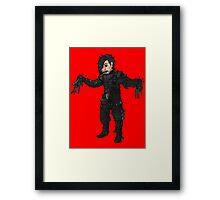 Scissorhands Shinsuke Framed Print