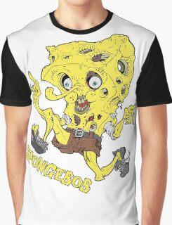 Spongebob Squarepants Zombie Graphic T-Shirt