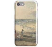 Joseph Mallord William Turner Paintings, View of London from Greenwich,  iPhone Case/Skin