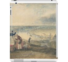 Joseph Mallord William Turner Paintings, View of London from Greenwich,  iPad Case/Skin