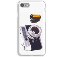 Film camera iPhone Case/Skin