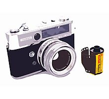 Film camera Photographic Print