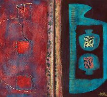 Synthesis (Artist Book - pp5&6) by Kerryn Madsen-Pietsch