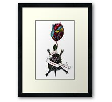 Oh but my darling, what if you fly? Framed Print