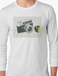 Retro photography Long Sleeve T-Shirt