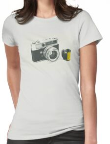 Retro photography Womens Fitted T-Shirt