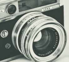 Retro photography Sticker