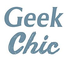 Geek Chic Photographic Print