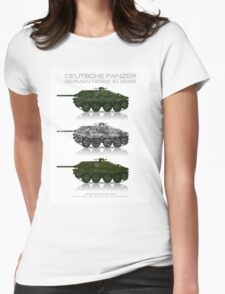 Sd. Kfz. 138/2 - German tank - Jagdpanzer 38(t) - Hetzer - Early production Womens Fitted T-Shirt