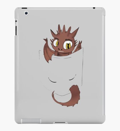Pocket Sized Smaug iPad Case/Skin