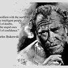 Charles BUKOWSKI - people quote by ARTito