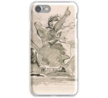 Giovanni Battista Tiepolo,  The Angel at the Tomb iPhone Case/Skin