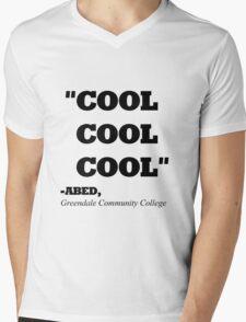 "COMMUNITY ABED ""COOL COOL COOL"" Mens V-Neck T-Shirt"