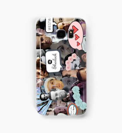 Moriarty (Collage) Samsung Galaxy Case/Skin