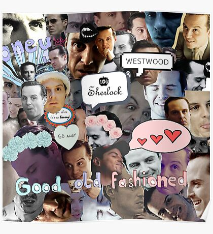 Moriarty (Collage) Poster