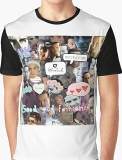 Moriarty (Collage) Graphic T-Shirt