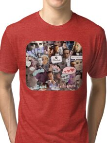 Moriarty (Collage) Tri-blend T-Shirt