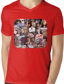 Moriarty (Collage) Mens V-Neck T-Shirt