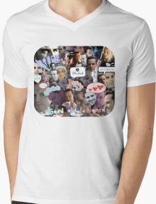 Moriarty (Collage) Mens V-Neck T-Shirt