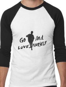 GO & Love Yourself. Men's Baseball ¾ T-Shirt
