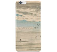John Ruskin  From Sairlock looking towards Outer Hebrides iPhone Case/Skin