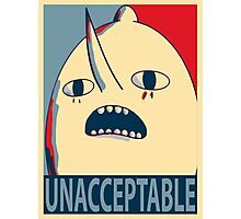 Unacceptable Lemongrab Photographic Print